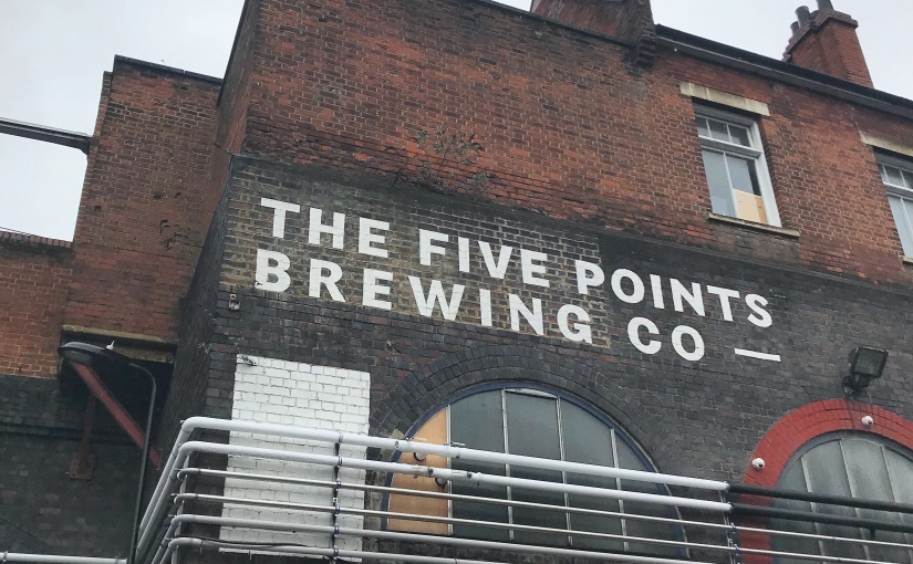 We Came for the Porter: Tour of a Brewery in Hackney,London