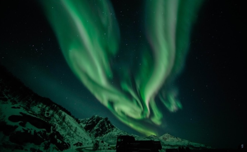 Exploring darkness in the polar night – Tromsø, Norway